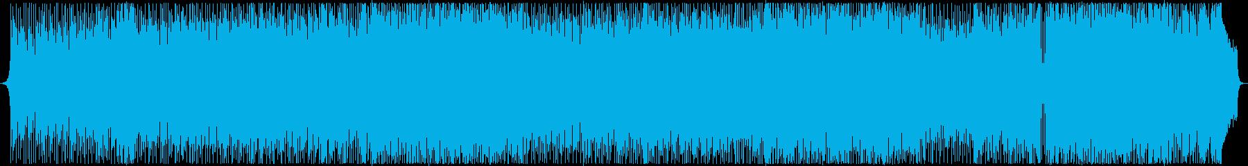 キラキラ爽やか希望にあふれるアコギBGMの再生済みの波形