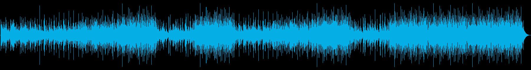 ピアノ、マンドリン、アコースティッ...の再生済みの波形