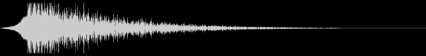 シュードーン-23-3(インパクト音)の未再生の波形