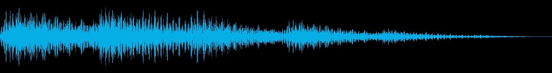 タラララ(選択 その他ゲーム用)の再生済みの波形