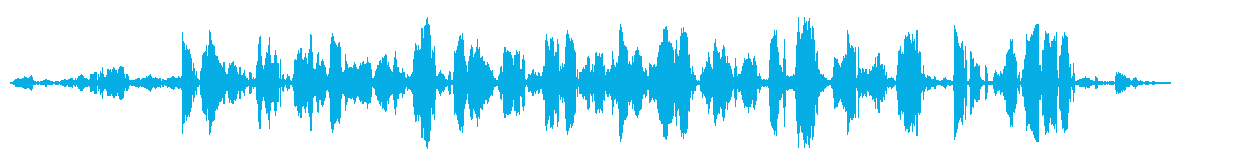 ラッピングの再生済みの波形
