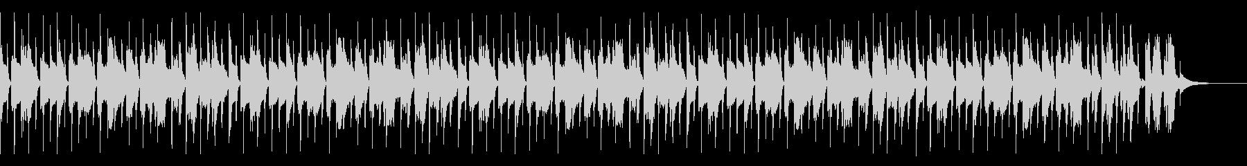 かわいいパズルBGM(ハイスピード)の未再生の波形