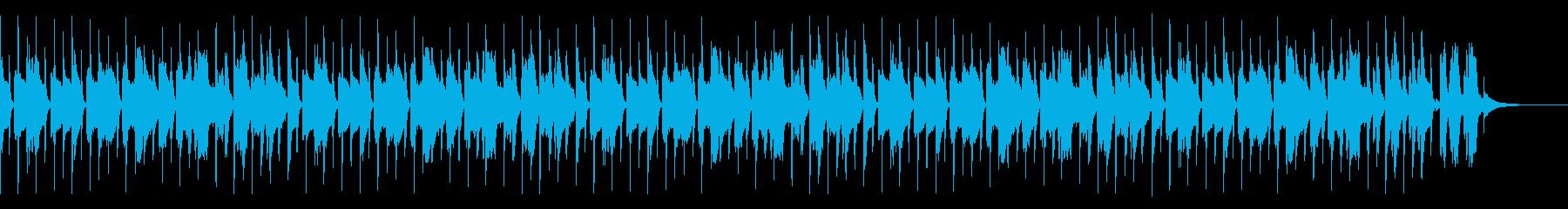 かわいいパズルBGM(ハイスピード)の再生済みの波形