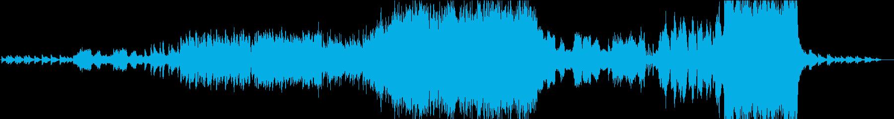 壮大で神秘的なケルト民族オーケストラの再生済みの波形
