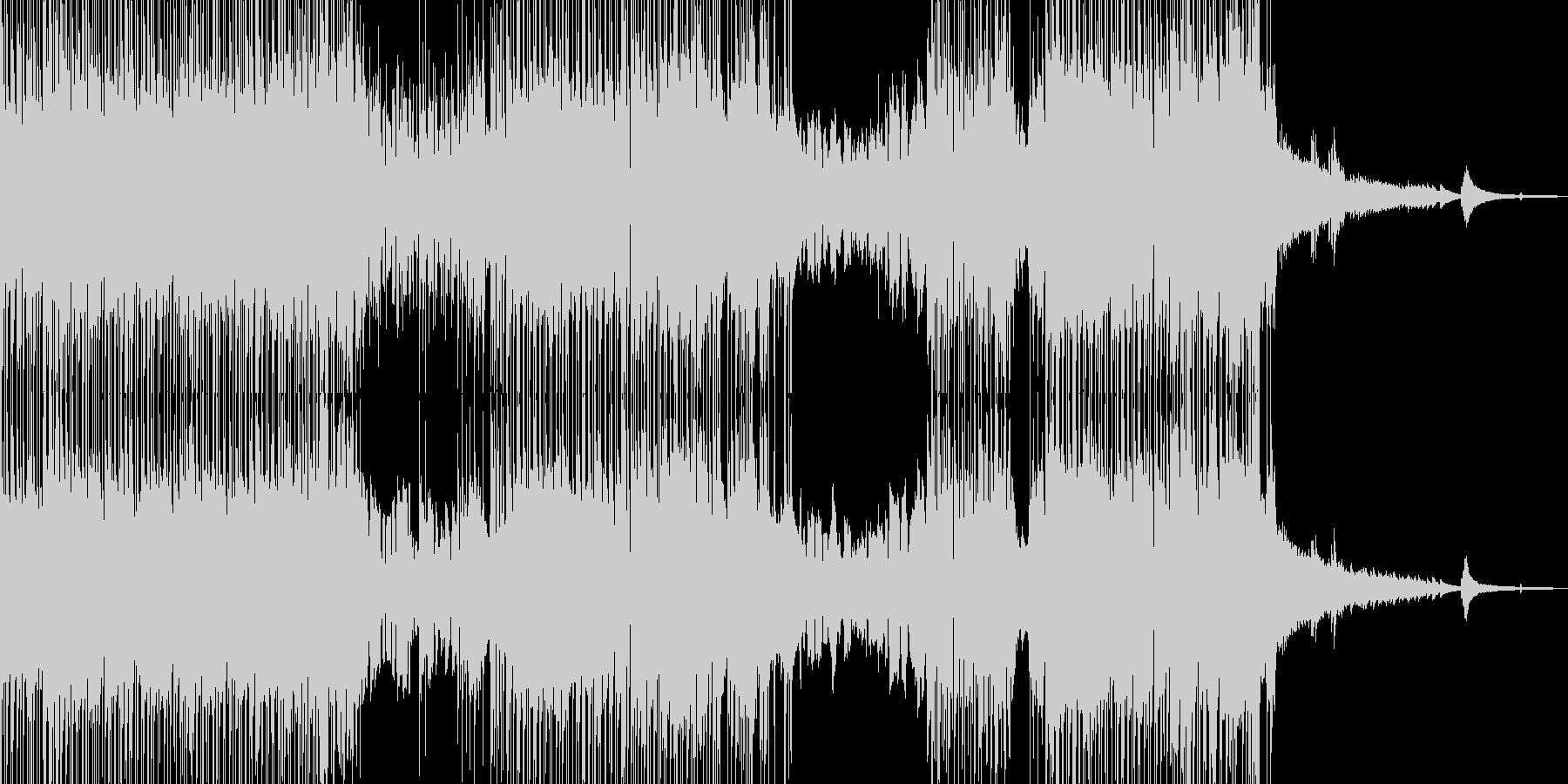 バイオリン・涼し気なポップス 短尺の未再生の波形