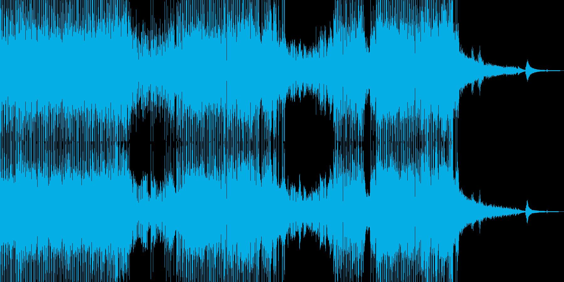 バイオリン・涼し気なポップス 短尺の再生済みの波形