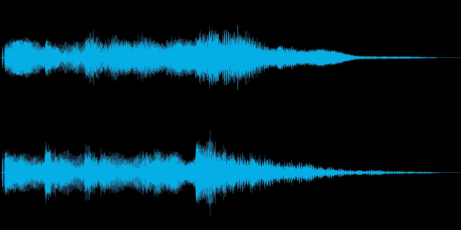 オープニング用ジングル90-2/ショートの再生済みの波形