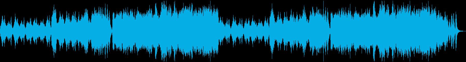 管弦楽によるお洒落なワルツの再生済みの波形