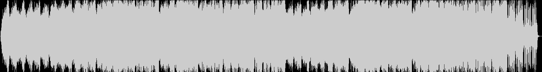 波音感じる癒しのサンセットヒーリングの未再生の波形
