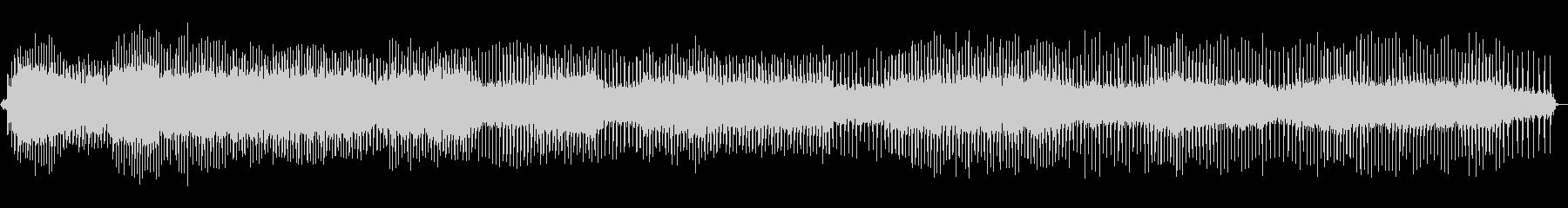 使用中のミシン-中速の未再生の波形