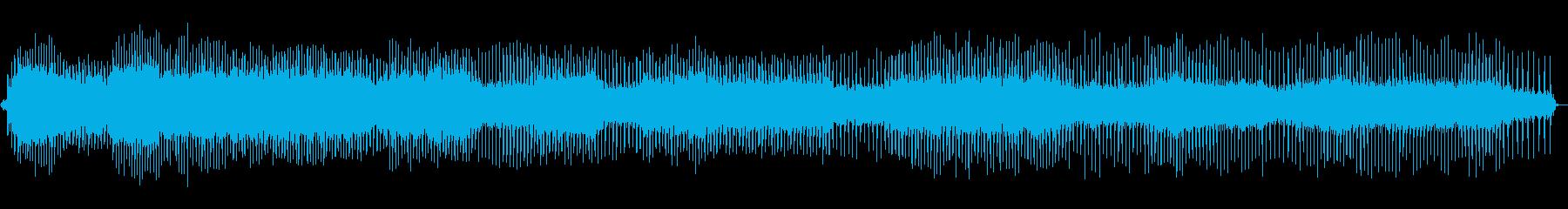 使用中のミシン-中速の再生済みの波形