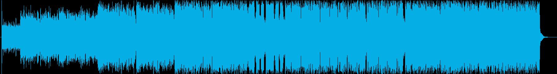 ケルト音楽 冒険の出発を連想させます。の再生済みの波形