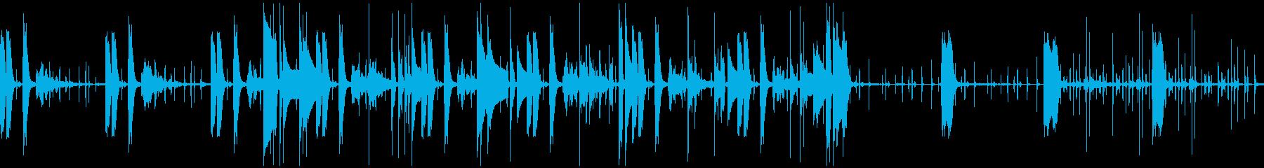 バラエティで流れるような怪しいBGMの再生済みの波形