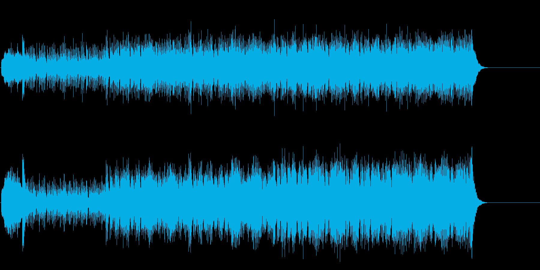ポップでファニーなワールド・ミュージックの再生済みの波形