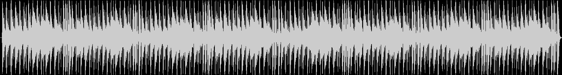 ジャジーなチルホップの未再生の波形