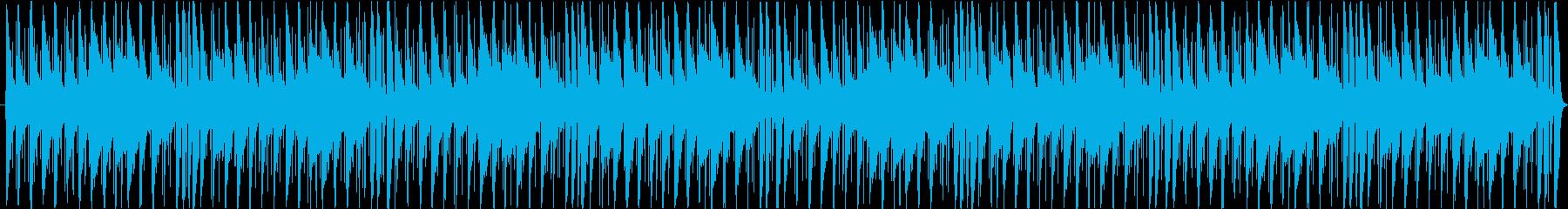 ジャジーなチルホップの再生済みの波形
