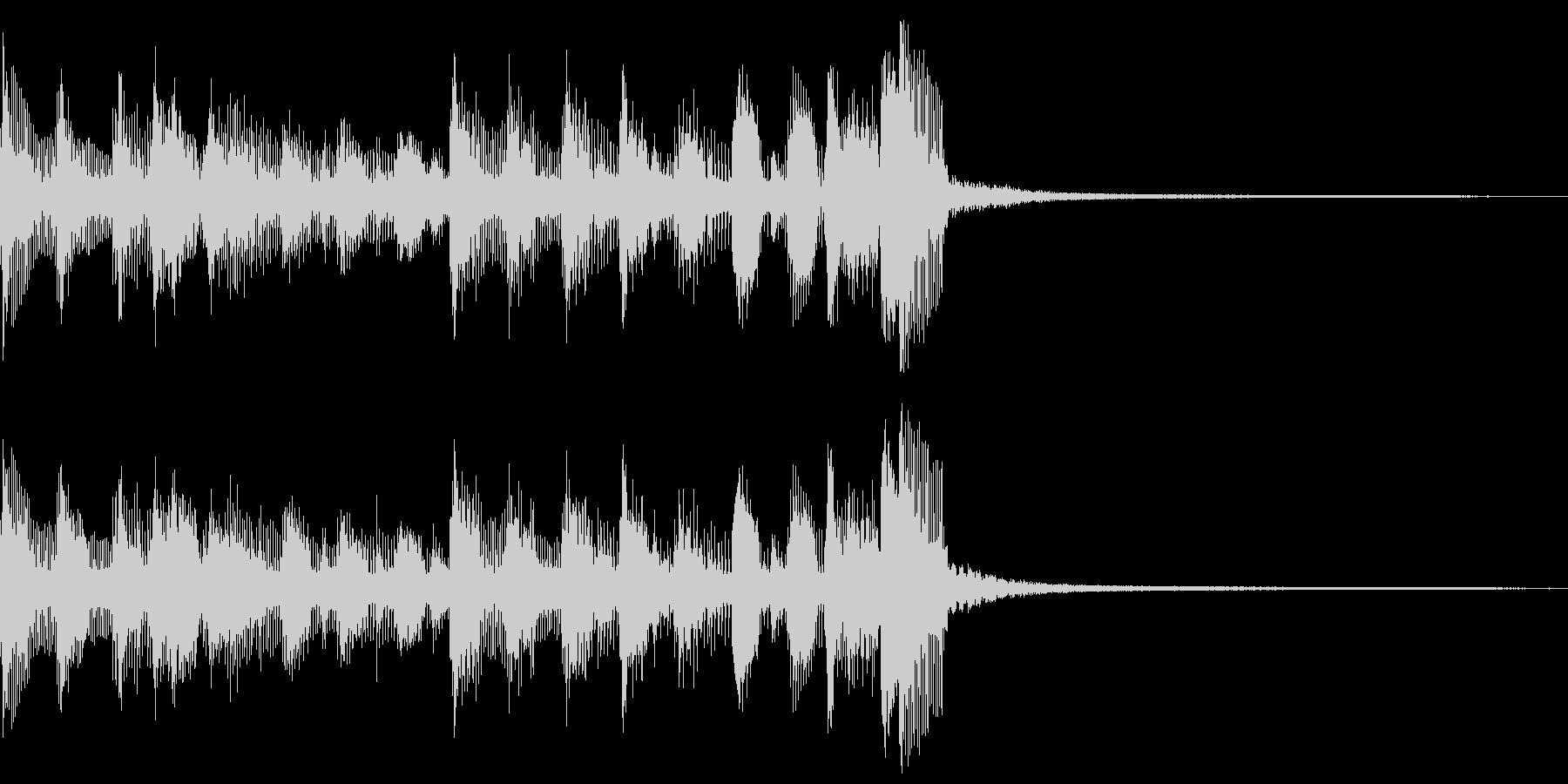 ウクレレ、ホンキートンクピアノ、オ...の未再生の波形