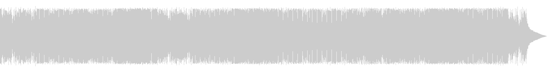 ミディアムテンポ切ない系トロピカルハウスの未再生の波形
