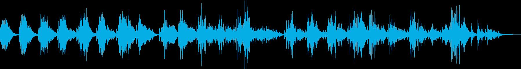一人旅(ピアノ・爽やか・優しい・温かい)の再生済みの波形