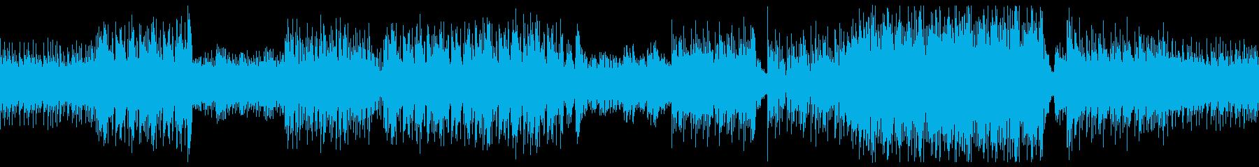 ゲーム用途のニューレトロBGM-Loopの再生済みの波形