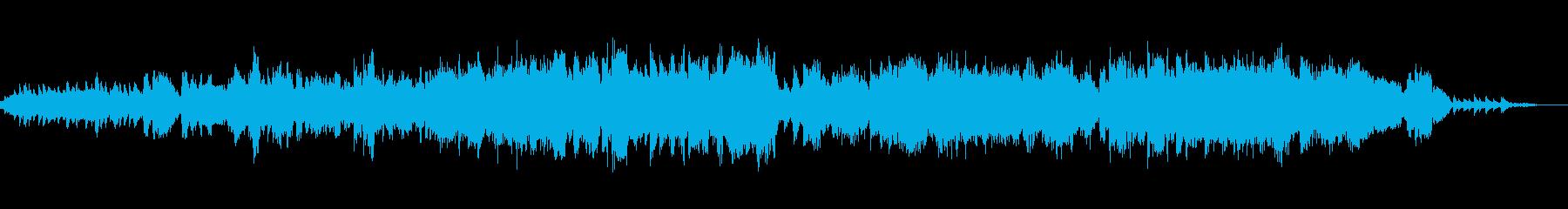 切なく散りゆく桜の為のピアノ協奏曲の再生済みの波形
