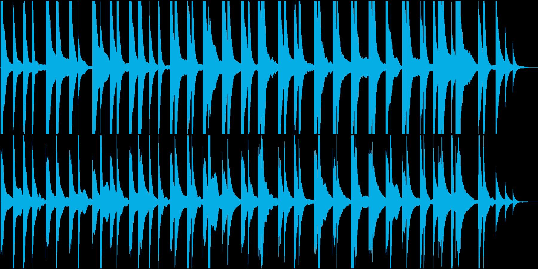 劇伴:ピアノ静かな音で始まり、和音が響くの再生済みの波形