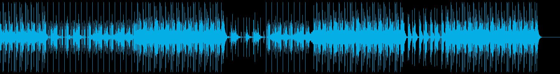 スリリング ミステリー トラップビートの再生済みの波形