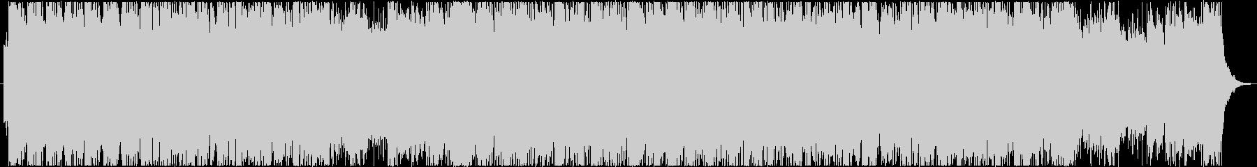 バトルフィールドBGMの未再生の波形