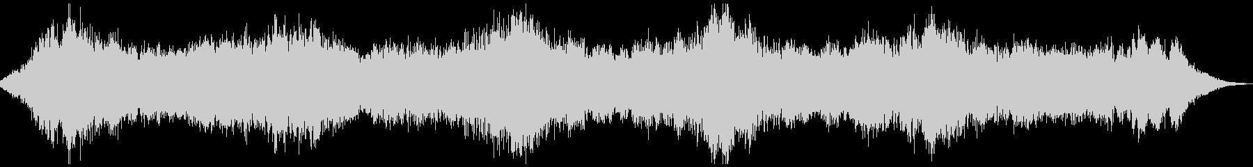 ダークアンビエント_02 ホラースケイプの未再生の波形