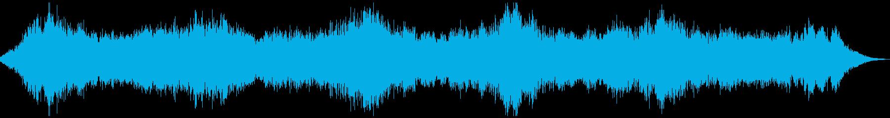 ダークアンビエント_02 ホラースケイプの再生済みの波形