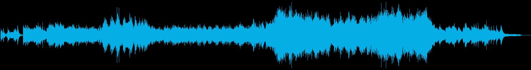二胡がメインの壮大で感動的なBGMの再生済みの波形