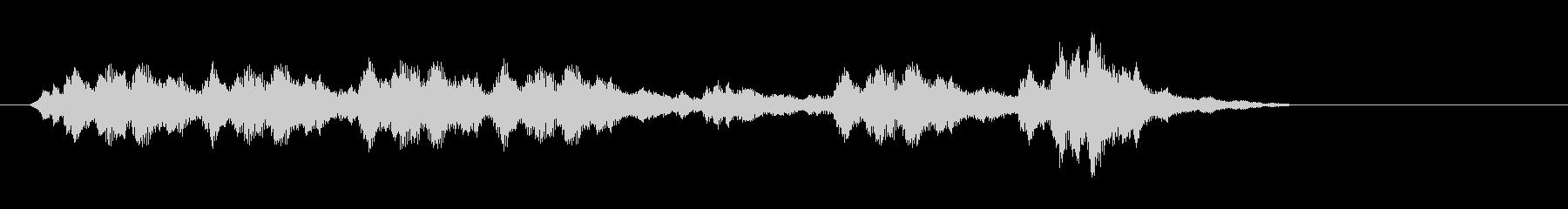 ハープ-ロングの未再生の波形