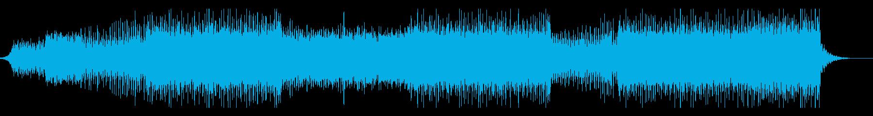 爽やかでミニマルなEDMの再生済みの波形
