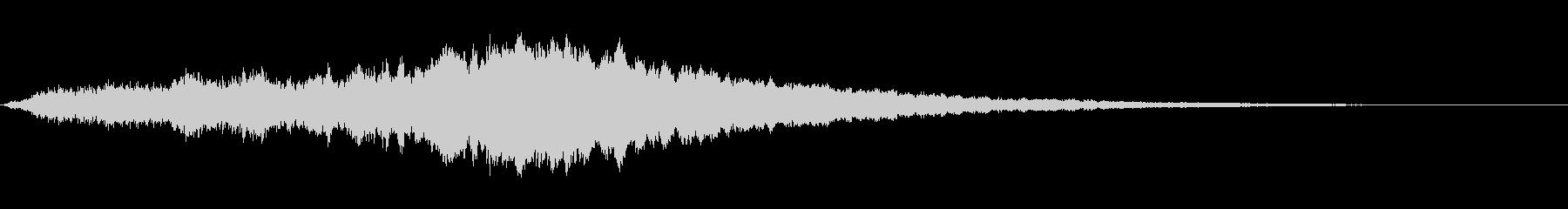 スペイシーメタリックリングの未再生の波形