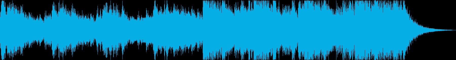 感動壮大企業VPエピックオーケストラfの再生済みの波形