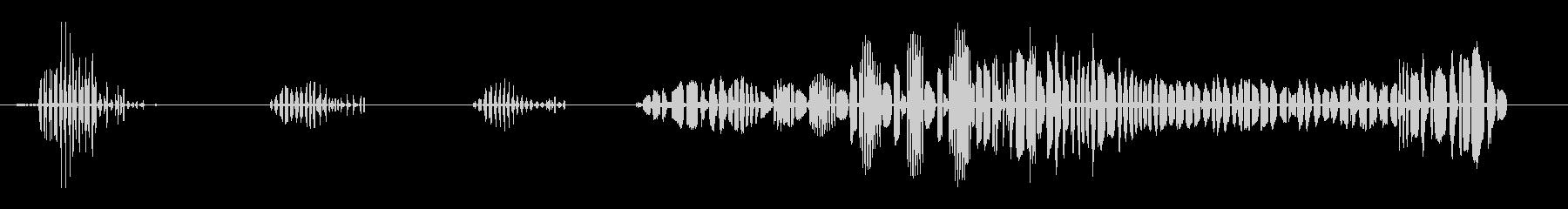 ソースクルカ-アロンドラの未再生の波形