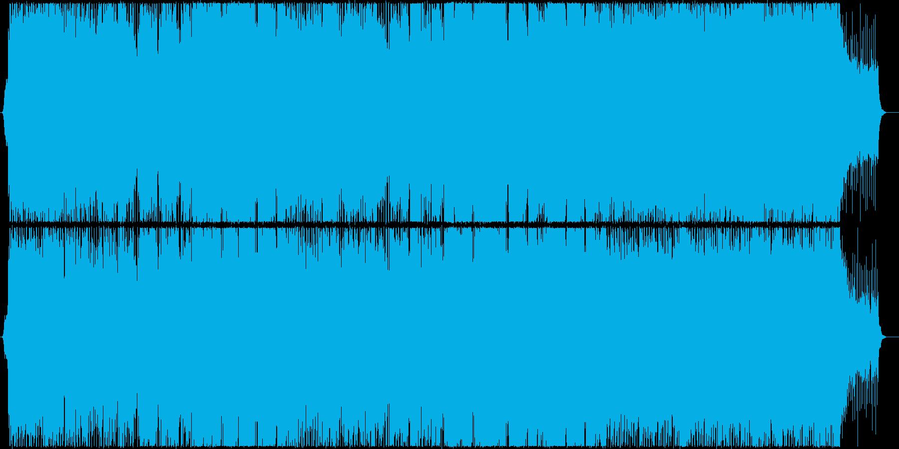 健忘の再生済みの波形