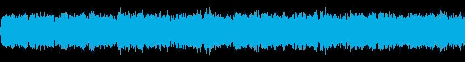 緊迫した雰囲気のホラー系BGM(すごく短の再生済みの波形