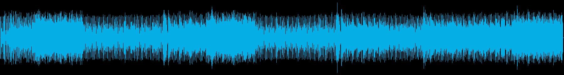 ループハウス。繰り返します。の再生済みの波形
