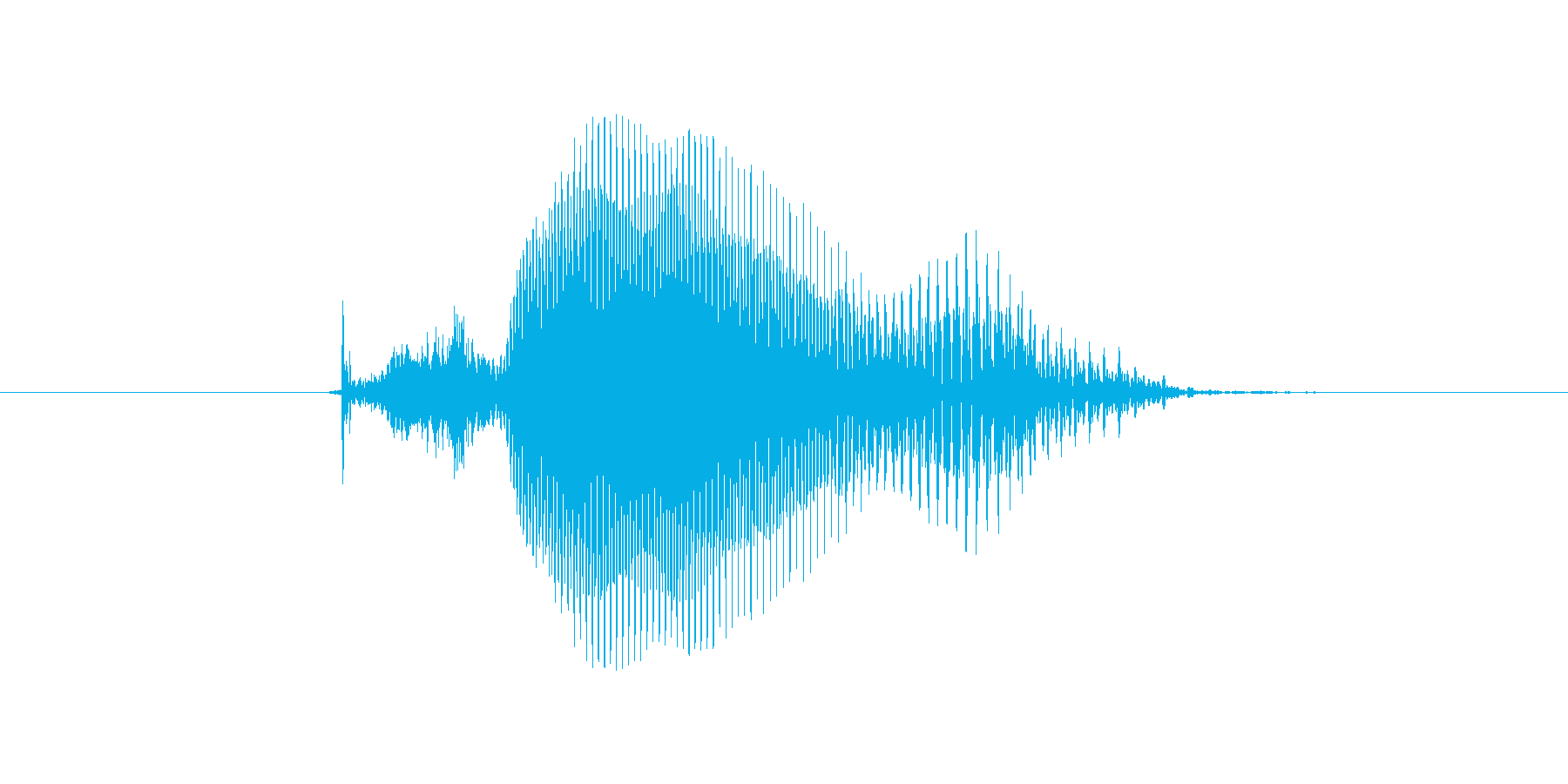 9(きゅう)の再生済みの波形