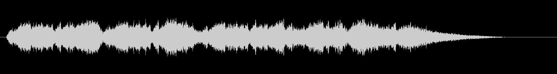 夏の終わりを表現したストリングス曲-01の未再生の波形