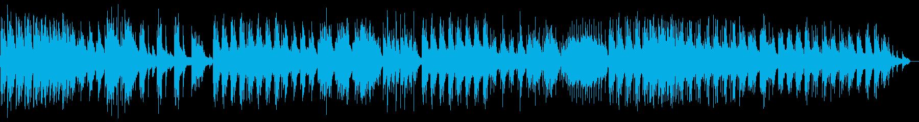 ピアノが印象的な悲しげなインストの再生済みの波形
