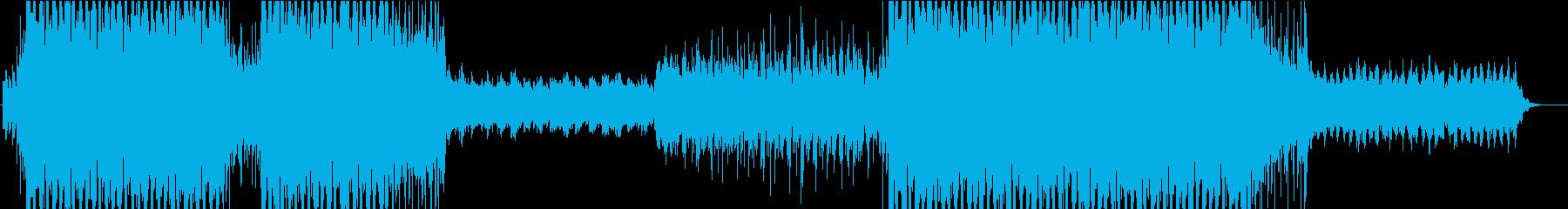 トロピカルリゾ~ト!爽やかEDMの再生済みの波形