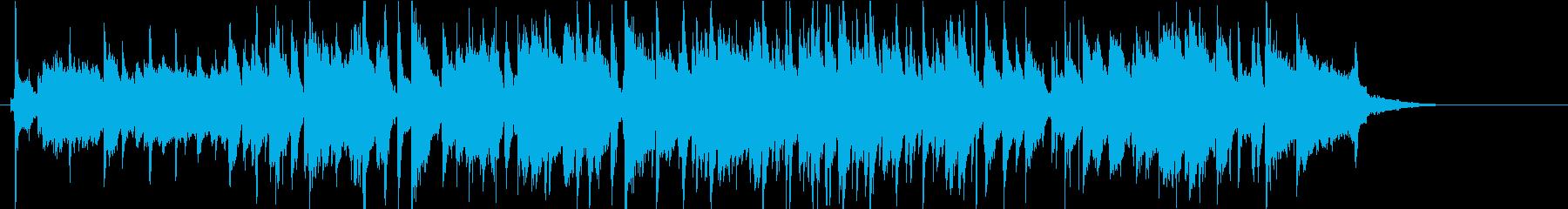 おしゃれなバーがイメージのしっとりジャズの再生済みの波形
