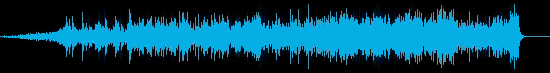 金管が活躍するエピックミュージックの再生済みの波形