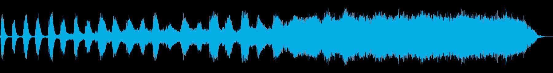 サスペンスフルなアンビエントの再生済みの波形