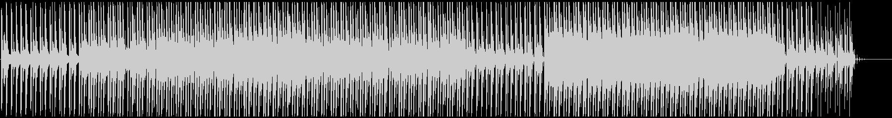 サイケデリックなサウンドスケープ。...の未再生の波形