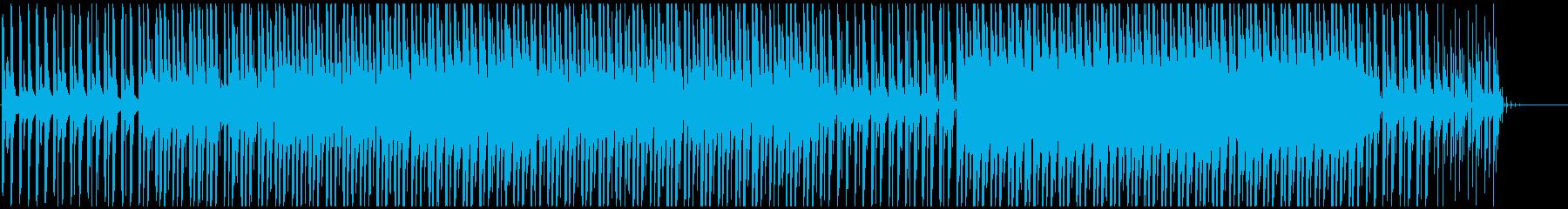 サイケデリックなサウンドスケープ。...の再生済みの波形