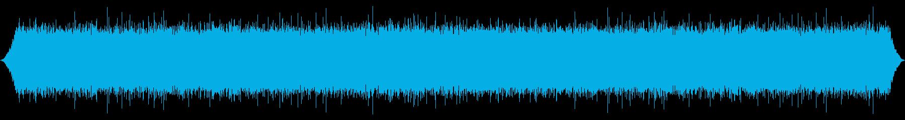 川:中程度の渦流の再生済みの波形