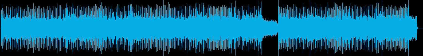 サイケでダンサブルなギターポップの再生済みの波形